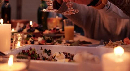 cena familiar restaurante el jamón del abuelo
